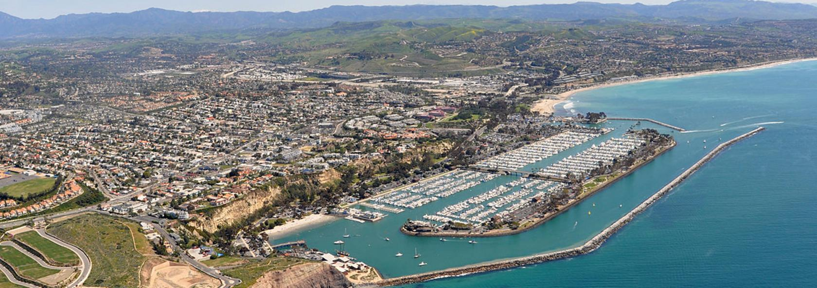 Aerial photograph of Dana Point