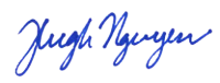 Signature Hugh Nguyen